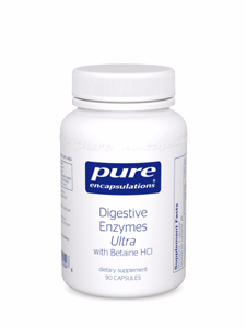 Digestive Enzymes Ultra with Betaine HCI Pure Encapsulations
